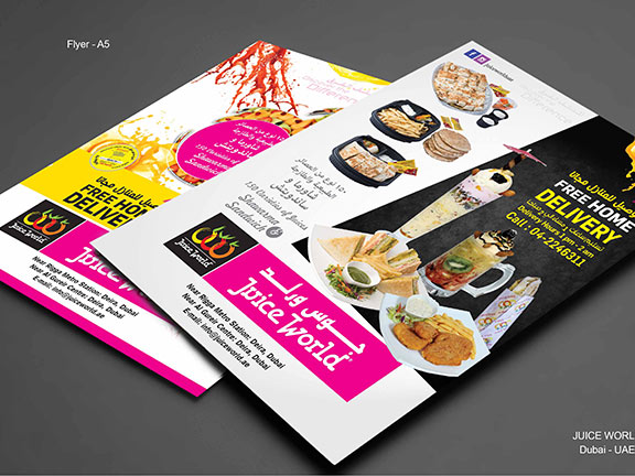 best flyer printing press in Al Ain
